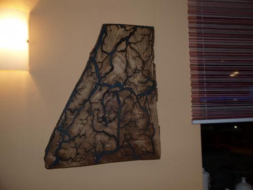 Lichtbogenbild 140-1 Zauberwald Ausgestellt: Jutta`s Cafe & Bar Ergoldsbach