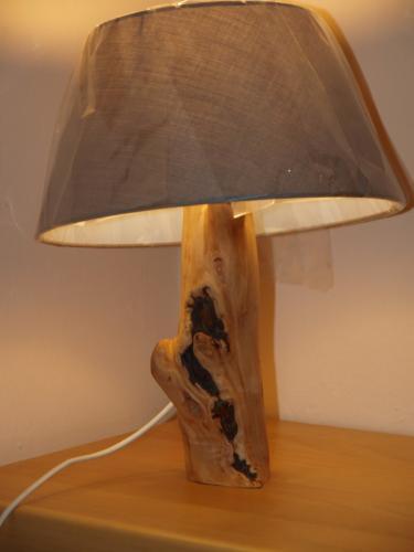 Naturholzlampen